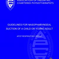 Guidelines for Nasopharyngeal Suction of a Child or Young Adult